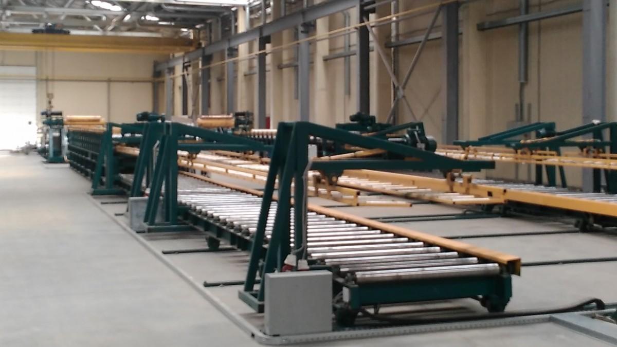 Изготовление металлоконструкций - конвеер