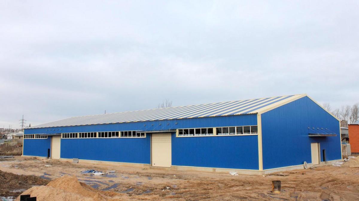 Монтаж склада в Балабаново Калужской области