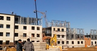 жилые здания из металлоконструкций