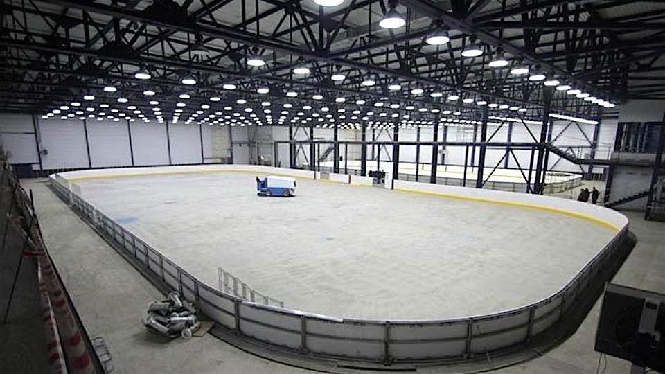 строительные решения при строительстве ледовых дворцов