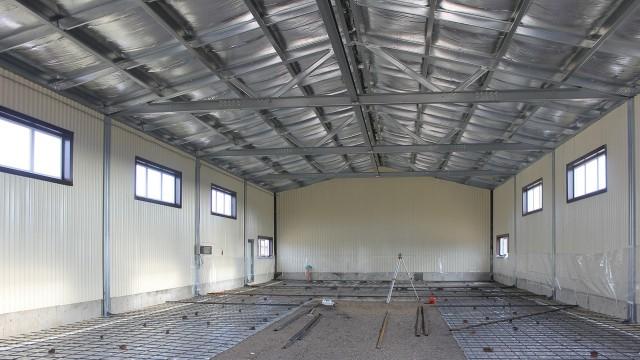 Изготовление и монтаж зданий из металлоконструкций