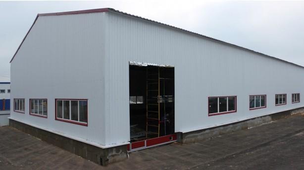 Строительство производственного цеха из металлоконструкций