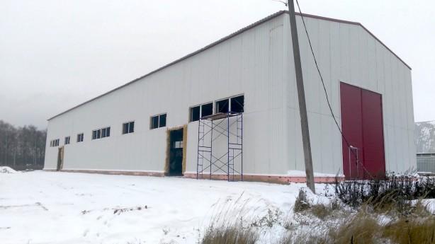 Строительство производственных ангаров под ключ из металлоконструкций