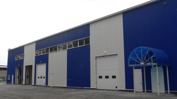 Изготовление и строительство зданий для автобизнеса