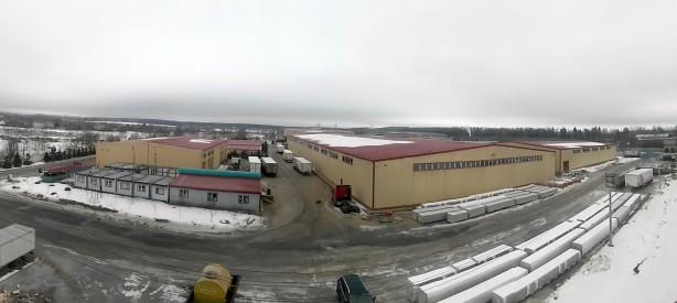 Строительство логистического центра в Московской области