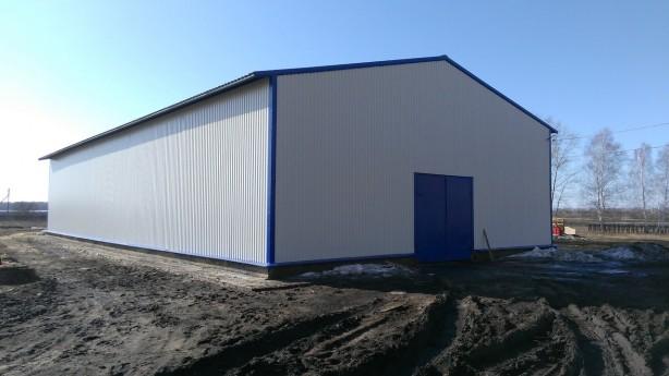 Изготовление и строительство склада в Тамбовской области