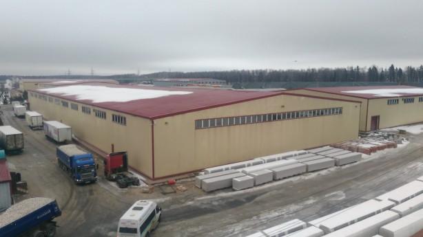 Строительство теплого склада из сэндвич-панелей под ключ