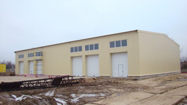 Строительство теплых складов под ключ
