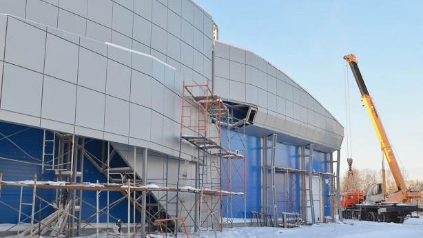 Строительство ледовых дворцов