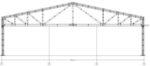 Проект автосервиса размерами 18х30х3(h)м