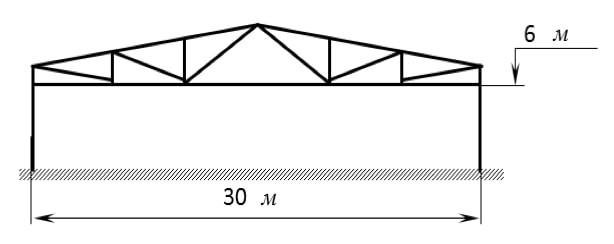 Проект складского здания площадью 3000 кв.м.
