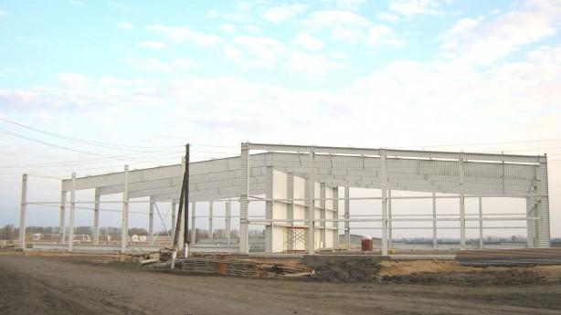 Строительство овощехранилищ из металлоконструкций