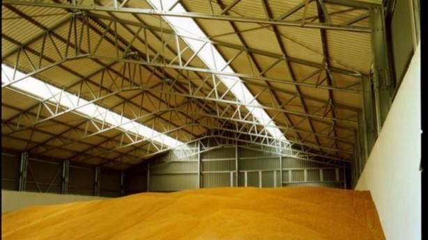 Зернохранилище внутри