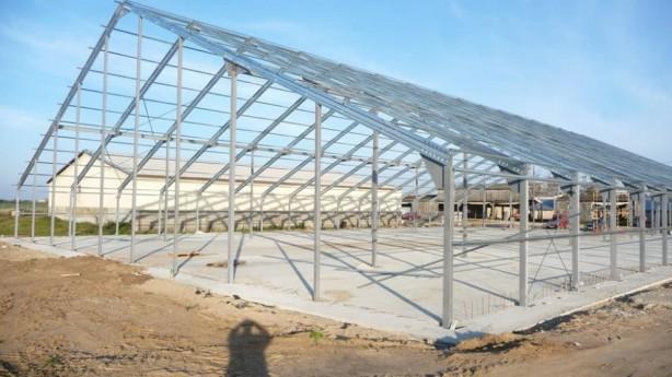 Строительство зернохранилищ из ЛМК