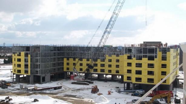 Строительство многоквартирных домов и гостиниц из ЛМК и ЛСТК (металлоконструкций)