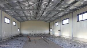 Монтаж производственных зданий
