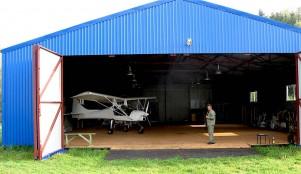 Ангар для частных самолетов