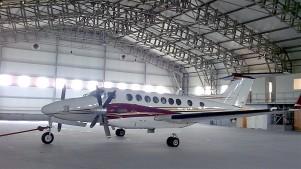 Ангар из металлоконструкций для малой авиации