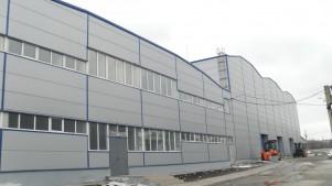 Строительство заводского здания