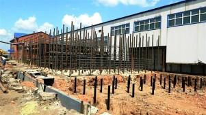 Свайный фундамент для производственного здания